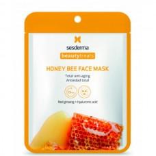 Sesderma BEAUTYTREATS Honey bee face mask - Маска антивозрастная для лица 22мл