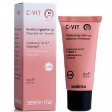 Sesderma C-VIT Revitalizing Make-up (claire) SPF 15 - Ревитализирующий тональный крем с СЗФ15 (Светлый тон) 30мл