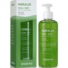 Sesderma HIDRALOE Aloe gel - Алое-гель увлажняющий для лица и тела 250мл