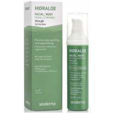 Sesderma HIDRALOE Aloe gel - Алое-гель увлажняющий для лица и тела 60мл