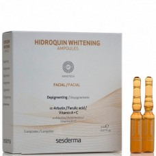 Sesderma HIDROQUIN Whitening ampoules - Депигментирующее средство в ампулах 5 х 2мл