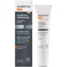 Sesderma MEN Active Eye contour gel - Гель для век для Мужчин 15мл