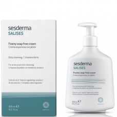 Sesderma SALISES Foamy soap free cream - Крем пенящийся для умывания 300мл