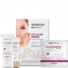 Sesderma SESMEDICAL Personal Peel Program CELLULAR REPAIR - Программа для клеточного восстановления 4 салф + 15мл + 30мл