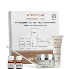 Sesderma VITISES PCAT Nanoadditives - Система для выравнивания тона кожи (Шаг 1 - порошок, шаг 2 - раствор, шаг 3 - гель) Гель 50 мл + нанодобавки