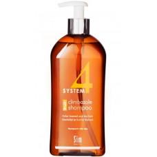 Sim SENSITIVE SYSTEM 4 Climbazole Shampoo 2 - Шампунь №2 для сухих поврежденных и окрашенных волос 500мл