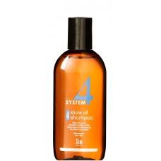 Sim SENSITIVE SYSTEM 4 Shale Oil Shampoo 4 - Шампунь №4 для очень жирной, чувствительной и раздраженной кожи головы 100мл