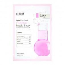 soleaf Skin Solution FIRMING Mask Sheet - Маска для лица Омолаживающая с КОЛЛАГЕНОМ 25мл