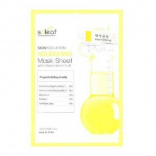 soleaf Skin Solution NOURISHING Mask Sheet - Маска для лица Питательная с МАТОЧНЫМ МОЛОЧКОМ 25мл