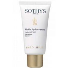 SOTHYS Oily Skin Hydra-matt fluid - Флюид увлажняющий матирующий для жирной кожи 50мл