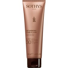 SOTHYS SUN CARE Protective lotion face and body SPF30 - Эмульсия для лица и тела СЗФ30, 125мл