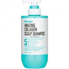 spaklean Amazing Collagen Scalp Shampoo - Шампунь глубокой очистки волос и кожи головы с КОЛЛАГЕНОМ 500мл