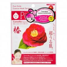 SunSmile Face Mask with Camellia - Маска для лица Омолаживающая с экстрактом КАМЕЛИИ 30гр