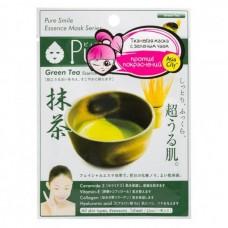SunSmile Face Mask with Green Tea - Маска для лица Успокаивающая с экстрактом ЗЕЛЁНОГО ЧАЯ 30гр