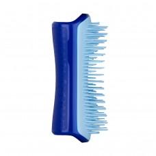 PET TEEZER SMALL De-Shedding & Dog Grooming Brush Sky Blue - Расческа МИНИ для вычесывания шерсти СИНИЙ/ГОЛУБОЙ 50 х 120мл