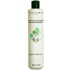 TEOTEMA SMOOTH CONTROL Deep Cleansing Shampoo - Шампунь очищающий с Кератином 500мл