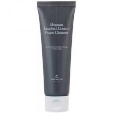 the SKIN HOUSE Homme Innofect Control Foam Cleanser - Пенка для мужчин Очищающая 120мл