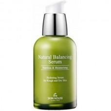 the SKIN HOUSE Natural Balancing Serum - Сыворотка для лица Балансирующая для обезвоженной жирной кожи 50мл