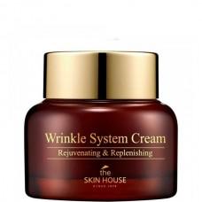 the SKIN HOUSE Wrinkle System Cream - Крем для лица Питательный с КОЛЛАГЕНОМ 50мл