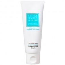 THELAVICOS SUVIA Triple Function BB Cream SPF50+ PA+++ - BB Крем для лица Омолаживающий 3-в-1 с ЛОТОСОМ 40гр