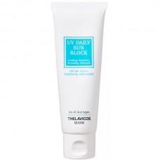 THELAVICOS SUVIA UV Daily Sun Block SPF50+ PA+++ - Крем для лица и тела Солнцезащитный с ЛОТОСОМ 50гр
