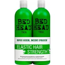 TIGI Bed Head ELASTICATE™ Tweens - Шампунь + Кондиционер укрепляющие 2 х 750мл