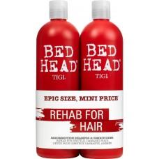 TIGI Bed Head urban anti+dotes™ RESURRECTION Tweens - Шампунь + Кондиционер для сильно поврежденных волос уровень 3, 2 х 750мл