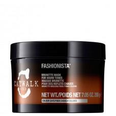TIGI Fashionista Brunette Mask - Тонирующая маска для темных волос 200мл