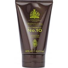 TRUEFITT & HILL AUTHENTIC No.10 Sensitive Shave Gel - Аутентик №10 Гель для бритья для чувствительной кожи 125мл
