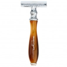 TRUEFITT & HILL RAZOR Wellington HORN DE Safety - Станок для бритья DE Safety РОГ с хромом 1шт