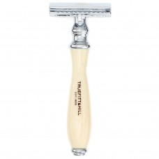 TRUEFITT & HILL RAZOR Wellington IVORY DE Safety - Станок для бритья DE Safety СЛОНОВАЯ КОСТЬ с хромом 1шт