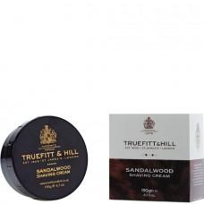 TRUEFITT & HILL SHAVING CREAM Sandalwood - Крем для бритья (в банке) 190гр
