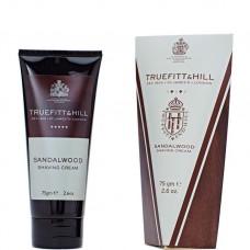 TRUEFITT & HILL SHAVING CREAM Sandalwood - Крем для бритья (в тюбике) 75гр