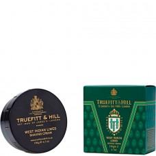 TRUEFITT & HILL SHAVING CREAM West Indian Limes - Крем для бритья (в банке) 190гр