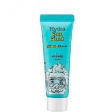 VILLAGE 11 FACTORY Hydra Sun Fluid SPF50+ PA++++ - Крем-флюид Увлажняющий солнцезащитный 25мл