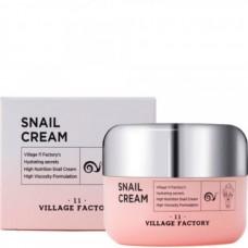 VILLAGE 11 FACTORY Snail Cream - Крем для лица Регенерирующий с УЛИТОЧНЫМ МУЦИНОМ 50мл
