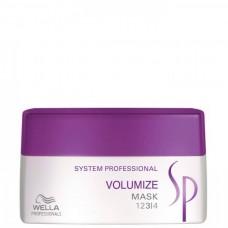 Wella SP VOLUMIZE MASK - Маска для объёма и укрепления волос 200мл