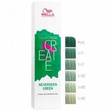 WELLA Professionals Color Fresh CREATE NEVERSEEN GREEN - Оттеночная краска для волос ТРОПИЧЕСКИЙ ЗЕЛЁНЫЙ 60мл