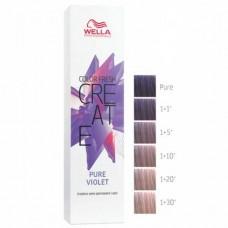 WELLA Professionals Color Fresh CREATE PURE VIOLET - Оттеночная краска для волос СИРЕНЕВЫЙ ШИФРОН 60мл