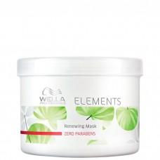 WELLA Professionals ELEMENTS Renewing Mask - Обновляющая маска 500мл