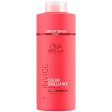 WELLA Professionals INVIGO COLOR BRILLIANCE Coarse Protection Conditioner - Бальзам-уход для защиты цвета окрашенных ЖЁСТКИХ волос 1000мл
