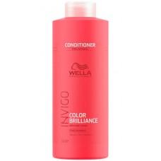 WELLA Professionals INVIGO COLOR BRILLIANCE Fine/Normal Protection Conditioner - Бальзам-уход для защиты цвета окрашенных НОРМАЛЬНЫХ и ТОНКИХ волос 1000мл