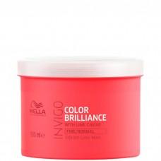 WELLA Professionals INVIGO COLOR BRILLIANCE Fine/Normal Protection Mask - Маска для защиты цвета окрашенных НОРМАЛЬНЫХ и ТОНКИХ волос 500мл