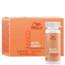 WELLA Professionals INVIGO NUTRI-ENRICH Nourishing Serum - Питательная сыворотка-уход для волос 8 х 10мл