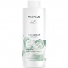 WELLA Professionals NUTRICURLS Conditioner for Waves & Curls - Бальзам-кондиционер для вьющихся и кудрявых волос 1000мл