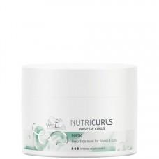 WELLA Professionals NUTRICURLS Mask for Waves & Curls - Питательная маска для вьющихся и кудрявых волос 150мл