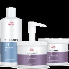 WELLA Professionals WELLAPLEX - Профессиональный набор для восстановления структуры волос 500 + 500 + 500мл